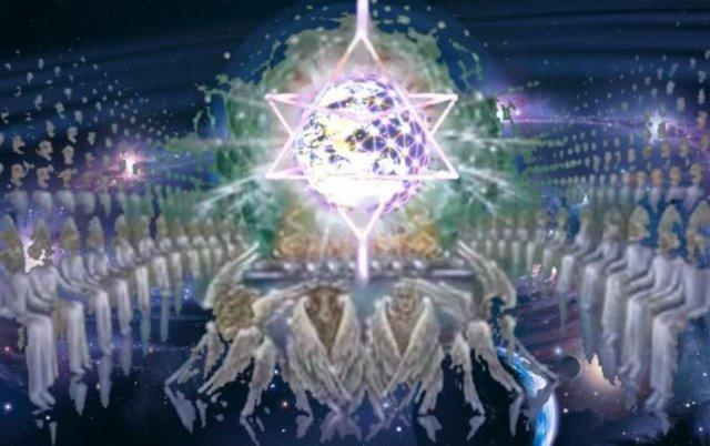 大天使メタトロンのビジョン