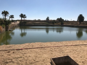 聖なる浄化の池