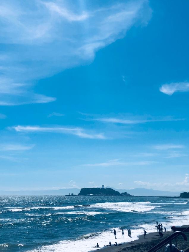 2019年8月7日の江ノ島