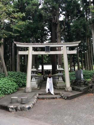 世界文化遺産に登録されている山宮浅間神社は、パワースポットとしても知られています。
